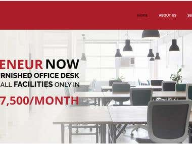 Cowork24- Landing page