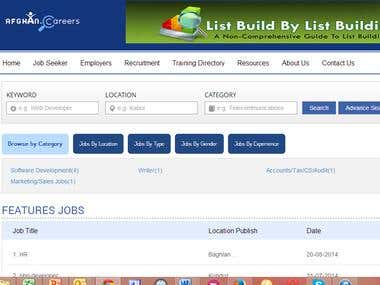 Job Portal Web Application