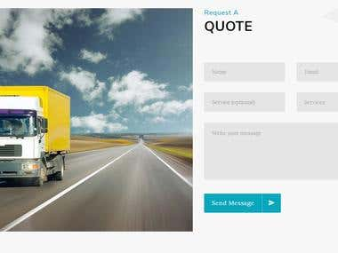 Website Design - GIAN GILL Roadways - Transportation