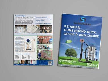 Flyer in German & France Language