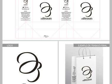 Diseño de Logo y Bolsa