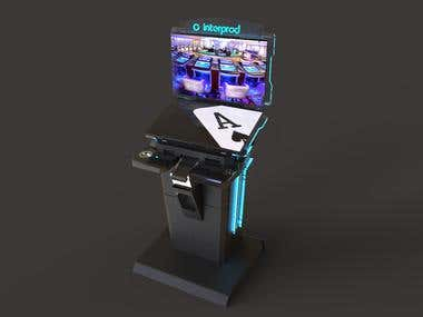 Kiosk for gambling