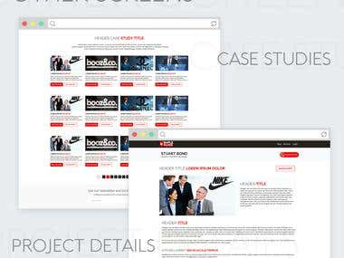 Web Design for Stuart Bond