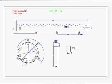 Product-Technical drawing