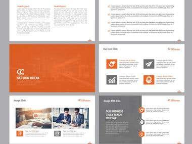 Powerpoint Presentation layout Designs