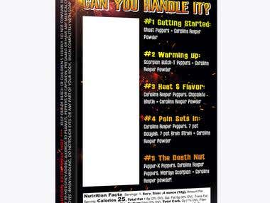 Death Nut Challenge Packaging