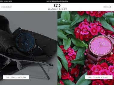 Giacomo Design - Woocommerce store