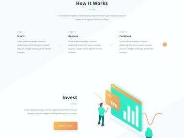 Petani webpage landing page proposal