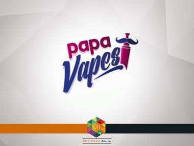 Logo Design | Papa Vapes