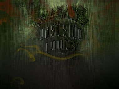 Eastside Roots CD Cover/Album Art and Logo Design/Branding