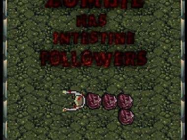 Cover art Zombie Cave (SNAKE) LITE