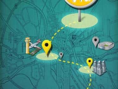 Go Via Trip Route Planner Lite