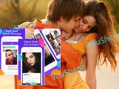 Secret video chat