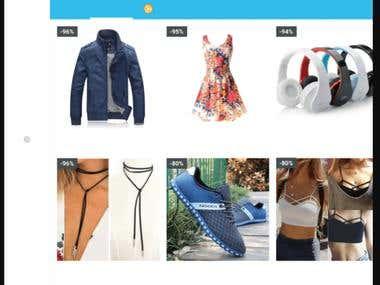 Wish shopping app
