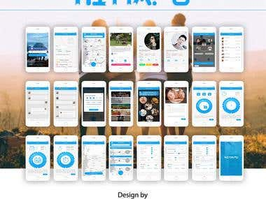 hittapo mobile app design