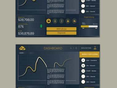 Ui design for dashboard