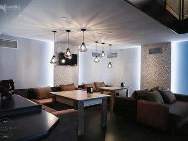 Lounge Bar design in Yerevan
