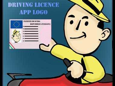 Logo for Italy Driving Licence App
