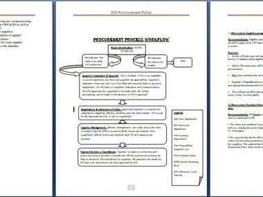 Procurement Policy Snapshot