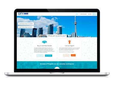 Custom WordPress Theme (Real Estate Brokerage)