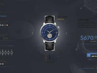 Watch generator mockup