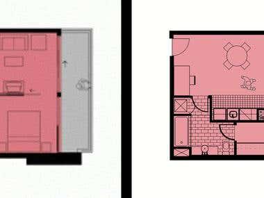 Recreation of Home Floor Plan