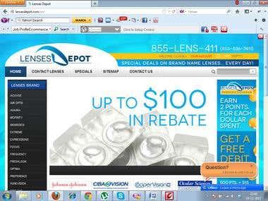 Lens Website