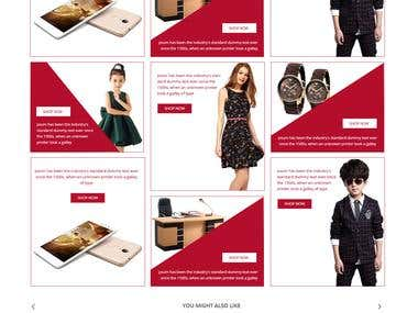 An e-commerce design