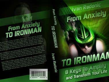 Book Cover - Template 6x9 inches - From Anxiety TO IRONMAN -