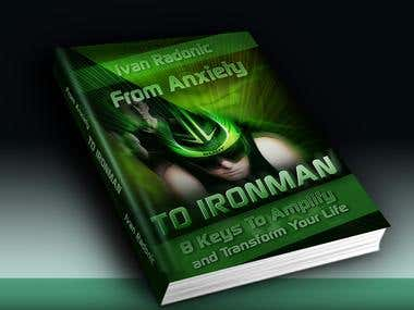 Book Cover Mockup2 - From Anxiety TO IRONMAN...