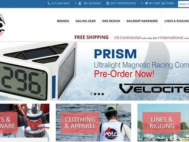 Big-Commerce Store - www.velasailingsupply.com