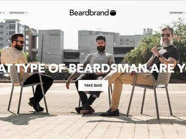 Shopify Store- https://www.beardbrand.com/