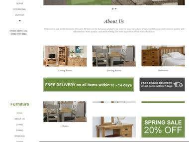 This is wordpress Avada theme website