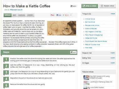Howik - how to make a kettle coffee