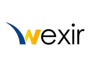 wexir logo design