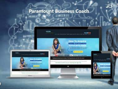 Open Source :- Paramount Business Coach (WordPress)