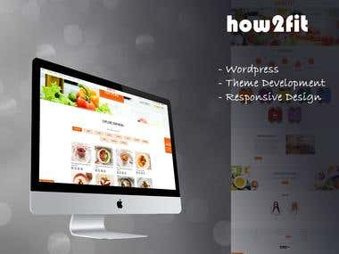 Food Ordering(https://www.how2fit.rs)