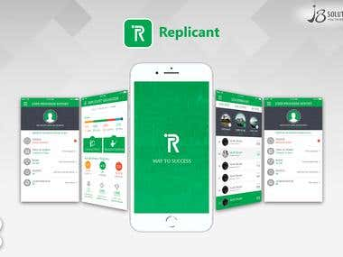 Android & iOS Application Development :- Replicant