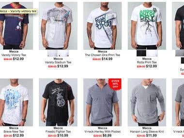 Young men's Tees