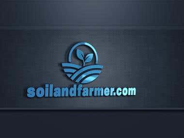 soil and farmer