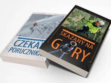 Skazany na góry & Czekan porucznika - book and DVD covers