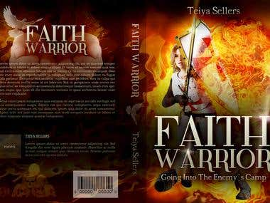 Book Cover - Template 6x9´´ - Faith Warrior -1