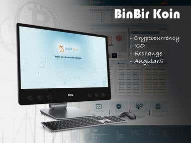 Cryptocurrency Exchange Platform(https://www.binbirkoin.com)