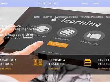 Fix the loading speed of academia-school.com