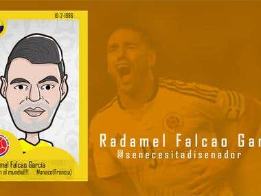 world cup Colombian football players