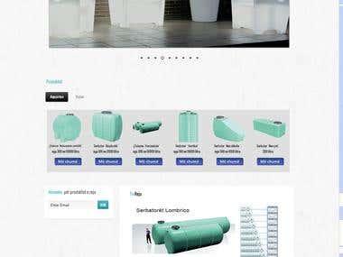 Website TelcomeAlbania