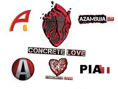 Textured Logos