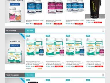 Health & Bodybuilding Supplements Online Store