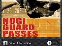 Nogi Guard Passes with Chris Brennan XL (On App store)