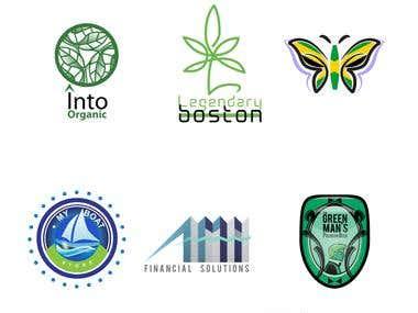 Dark & Medium Green Logos